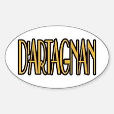 D'Artagnan Decal
