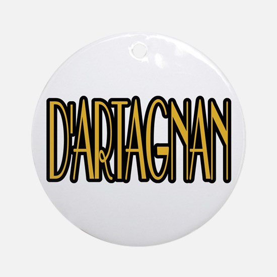 D'Artagnan Ornament (Round)