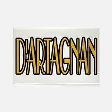 D'Artagnan Rectangle Magnet