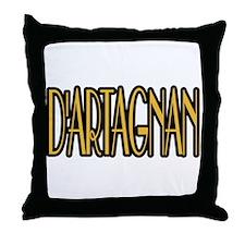 D'Artagnan Throw Pillow