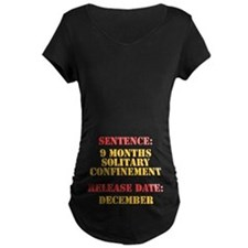 Release Date: December Maternity T-Shirt