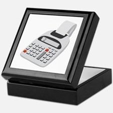 Adding Machine Calculator Keepsake Box
