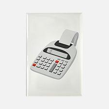Adding Machine Calculator Rectangle Magnet