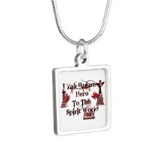 Ghost Adventures Silver Square Necklace