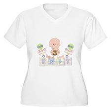 Cute Bald Baby Plus Size T-Shirt
