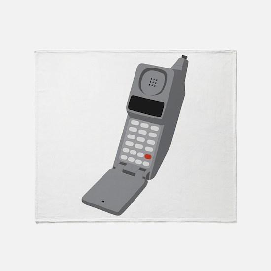 Vintage Cellphone Throw Blanket