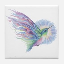 Hummingbird Art Tile Coaster