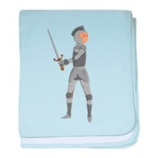 Armored Knight baby blanket