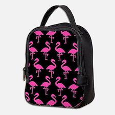 'Flamingos' Neoprene Lunch Bag