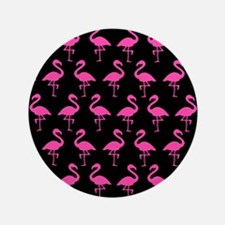 "'Flamingos' 3.5"" Button (100 pack)"