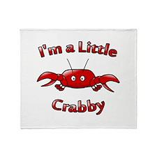 Crabby Throw Blanket