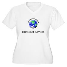 World's Sexiest Financial Adviser Plus Size T-Shir
