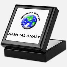 World's Sexiest Financial Analyst Keepsake Box