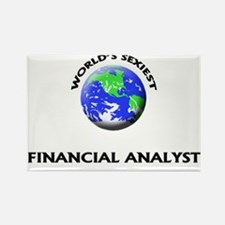 World's Sexiest Financial Analyst Rectangle Magnet
