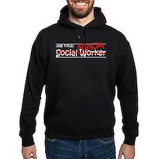 Job Ninja Social Worker Hoodie