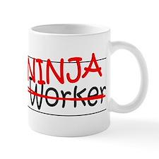 Job Ninja Social Worker Small Mug