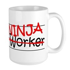 Job Ninja Social Worker Mug