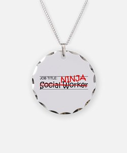 Job Ninja Social Worker Necklace