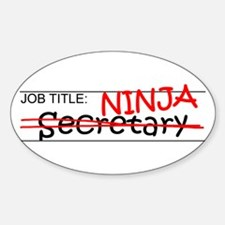 Job Ninja Secretary Decal