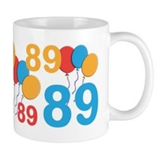 89 Years Old - 89th Birthday Small Mugs