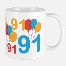 91 Years Old - 91st Birthday Mug