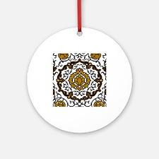 Eleonora di Toledo's dress Ornament (Round)
