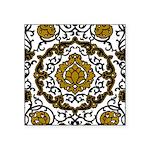 Eleonora di Toledo's dress Square Sticker 3