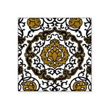 """Eleonora di Toledo's dress Square Sticker 3"""" x 3"""""""