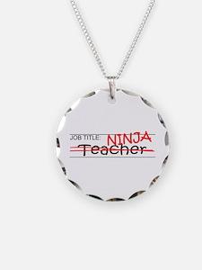 Job Ninja Teacher Necklace