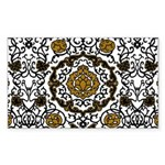 Eleonora di Toledo's dress Sticker (Rectangle 10 p