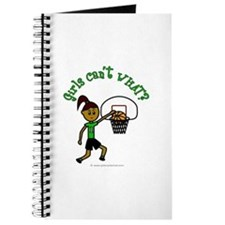 Dark Green Basketball Journal