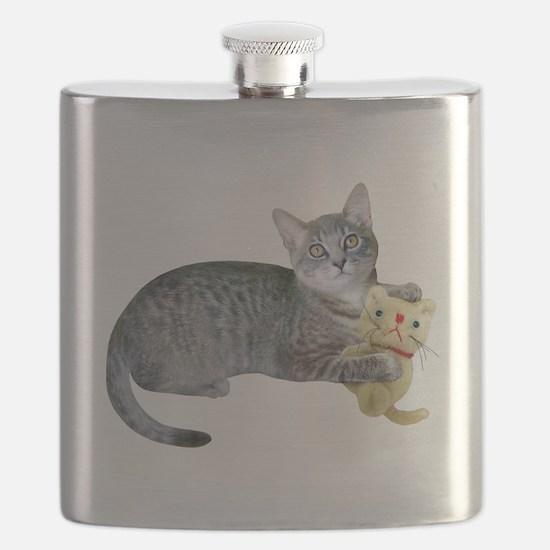 Kitten Stuffed Cat Flask