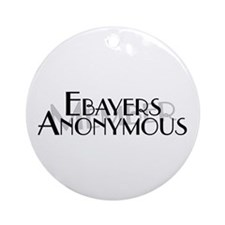 Ebayers Anonymous Ornament (Round)