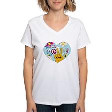 Mod Sixties Make Love Shirt