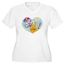 Mod Sixties Make Love T-Shirt