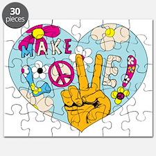 Mod Sixties Make Love Puzzle
