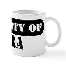 Property of Myra Small Mug