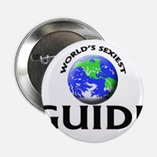 """World's Sexiest Guide 2.25"""" Button"""