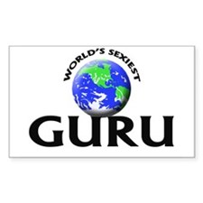 World's Sexiest Guru Decal