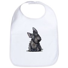 Brindle Scottie Bib