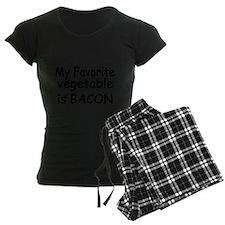 MY FAVORITE VEGETABLE IS BACON Pajamas