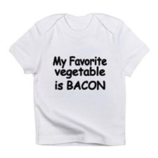 MY FAVORITE VEGETABLE IS BACON Infant T-Shirt