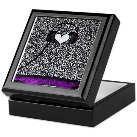 Heart Beats Keepsake Box