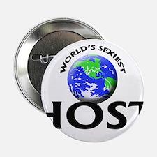 """World's Sexiest Host 2.25"""" Button"""