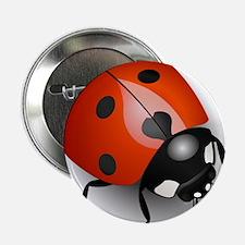 """Shiny Ladybug 2.25"""" Button"""