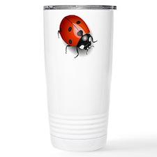 Shiny Ladybug Travel Mug