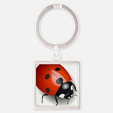 Shiny Ladybug Keychains