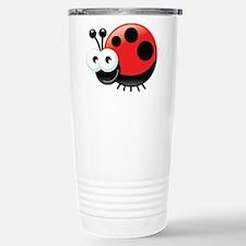 Happy Ladybug Travel Mug