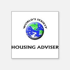 World's Sexiest Housing Adviser Sticker