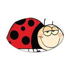 Cute Ladybug Wall Decal